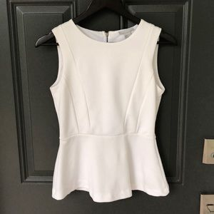 H&M top with zipper in the back